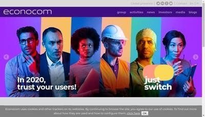 Site internet de Econocom France