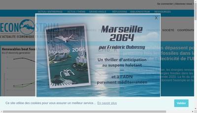 Site internet de Econostrum Info