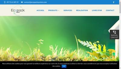 Site internet de Ecopack-System