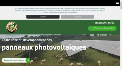 Site internet de Eco Solution Energie