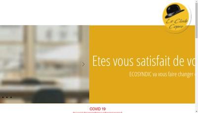 Site internet de Ecosyndic