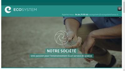 Site internet de Eco System