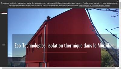 Site internet de Eco Technologies