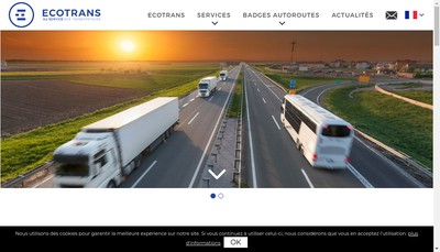 Site internet de Ecotrans
