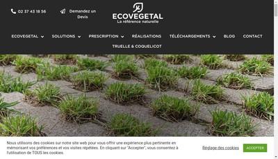 Site internet de Ecovegetal