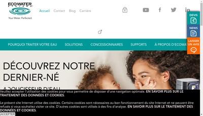 Site internet de Eau Bonheur de l'Eau