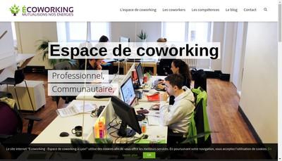 Site internet de Ecoworking