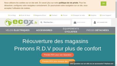 Site internet de Ecox