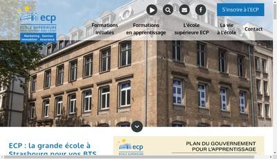 Site internet de Ecole Commerciale Privee
