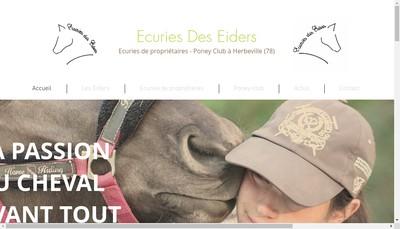 Site internet de Ecuries des Eiders