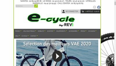 Site internet de E-Cycle