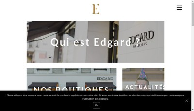 Site internet de Edgard Opticiens