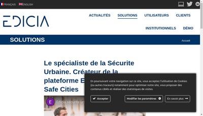 Site internet de Edicia