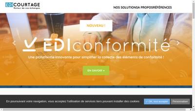 Site internet de Edicourtage