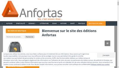 Site internet de Anfortas