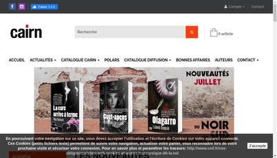 Site internet de Cairn
