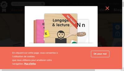 Site internet de Editions Jullien Editions de la Cigale