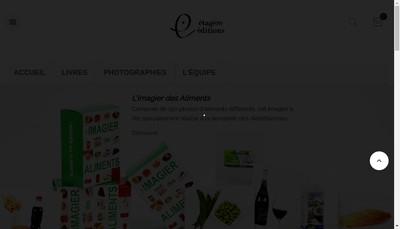 Site internet de Editions de l'Etagere
