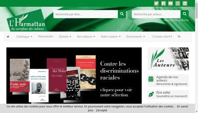 Site internet de Harmattan