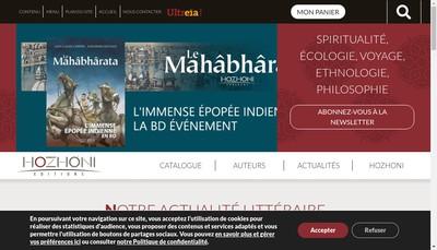 Site internet de Editions Hozhoni