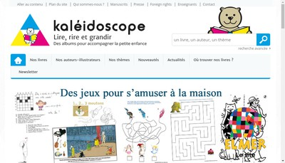 Site internet de Kaleidoscope