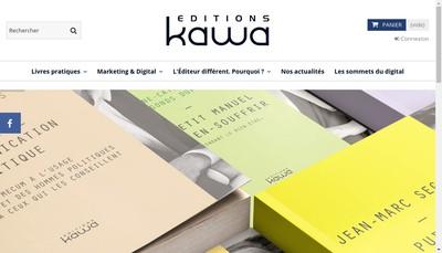 Site internet de Kawa