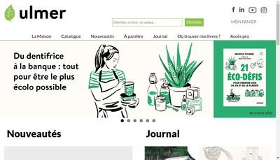 Site internet de Les Editions Eugen Ulmer