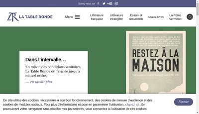 Site internet de Quai Voltaire
