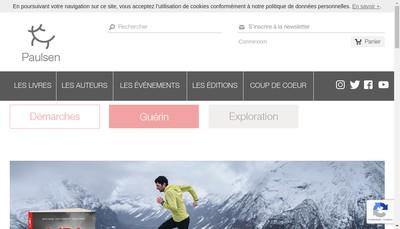 Site internet de Editions Paulsen