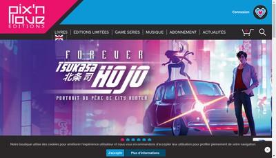 Site internet de Les Editions Pix'Nlove
