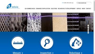 Site internet de Edixia Automation