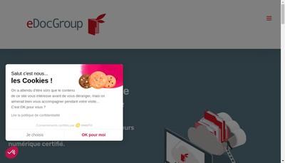 Site internet de Edoc-Group