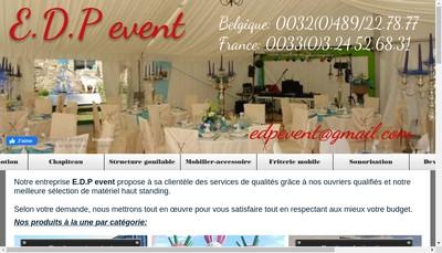 Site internet de Edp Event