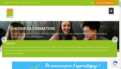 Site internet de Edta Sornas
