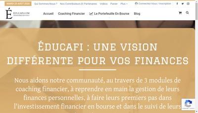 Site internet de Educafi