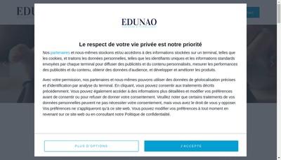Site internet de Edunao