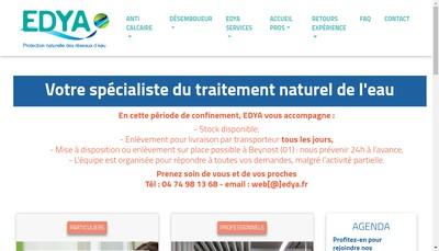 Site internet de Edya