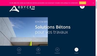 Site internet de Ch Beton