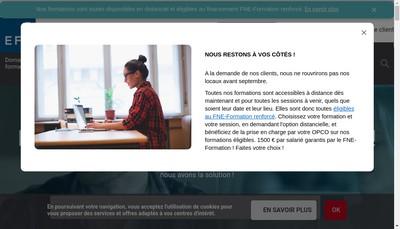 Site internet de Efe Editions