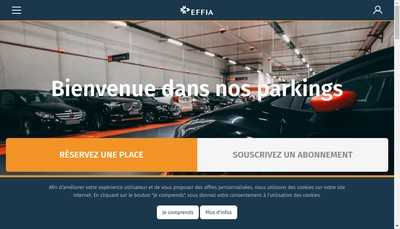 Site internet de Effia Concessions