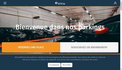 Site internet de Effia Park