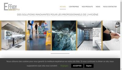 Site internet de Effigy Pro