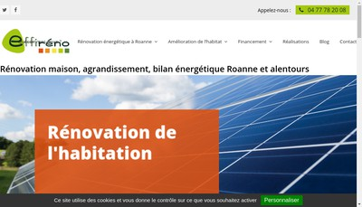 Site internet de Effireno GIE