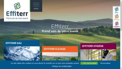 Site internet de Effiterr