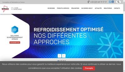 Site internet de Efirack