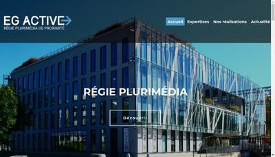 Site internet de EG Active