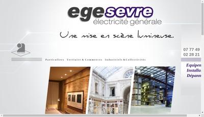 Site internet de Egesevre