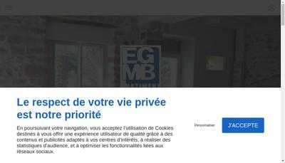Site internet de Societe Gen Maconn Ballancourtoise