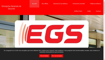 Site internet de Entreprise Generale de Securite