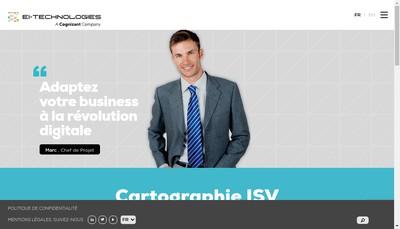 Site internet de Ei-Management